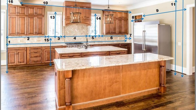 How To Measure Your Kitchen For Cabinets – EASY